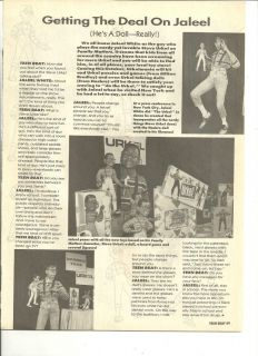 Jaleel Whie Family Maers Full Page Vinage clipping Seve Urkel