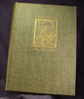 1937 The Birds of America John James Audubon Macmillan
