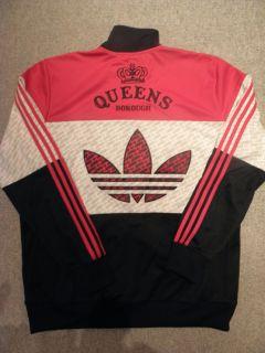 Superstar Track Jacket Run DMC Jam Master Jay Queens XL