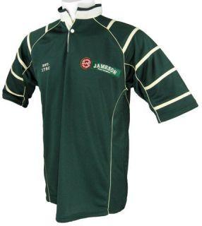 Jameson Irish Whiskey Rugby Jersey Green