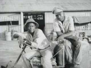 Hickman Black History Photo Military Men Photograph