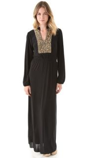 Tbags Los Angeles Maxi Dress with Beading
