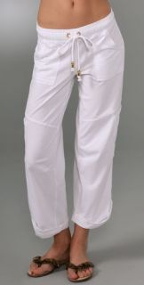 Juicy Couture Boyfriend Cargo Crop Pants