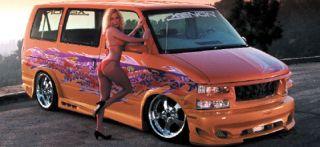 Xenon Wrap Around Rear Valance 1995 05 Chevy Astro Van