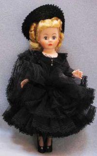 1988 89 Madame Alexander Coco Portrette Doll 10 1140 w O Box