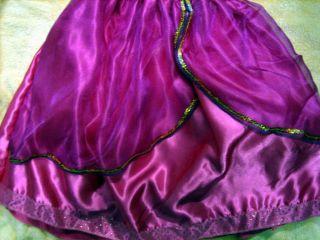 Disney Princess Jasmine Costume Dress Up Play Aladdin