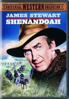 Shenandoah New SEALED DVD James Stewart