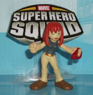 Marvel Super Hero Squad Mary Jane Awesome in Hand