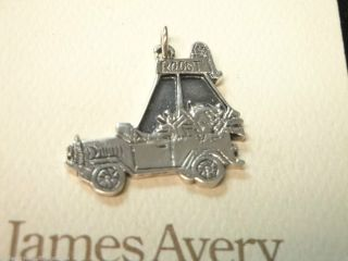 James Avery Ford Nest Roost Charm Sterling Silver KK 22 1 1 8 Long
