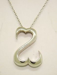 Jane Seymour Open Heart Sterling Silver Necklace