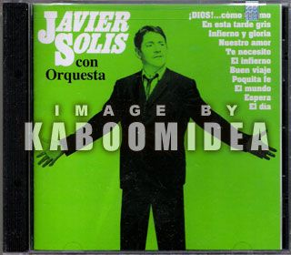Javier Solis Con Orquesta CD New SEALED