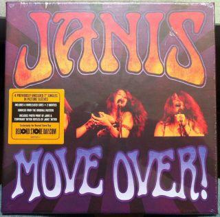 Janis Joplin Move Over 4X 7 New SEALED RSD 2011 D 4696 Black Friday