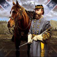 General James  Old Pete  Longstreet by Gnatek Print