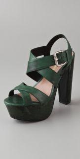 Pour La Victoire Gisela Criss Cross Sandals