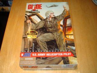 GI JOE GI JANE U.S. ARMY Helicopter Pilot African American 12 Figure
