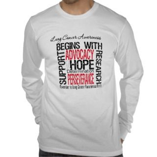 Hope   Lung Cancer Awareness Month T shirts