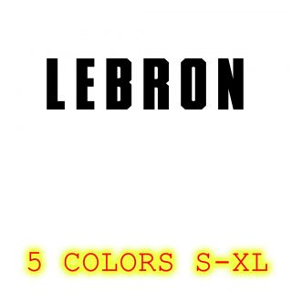 Lebron James T Shirt LBJ Miami Heat Champs Rings Lebron Tee Black
