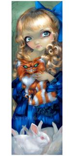 Jasmine Becket Griffith Art Big Print Signed Alice Enchanted