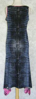 Jamie Sadock Unique Long Sample Dress M New Spring 2012 Stretch Jersey