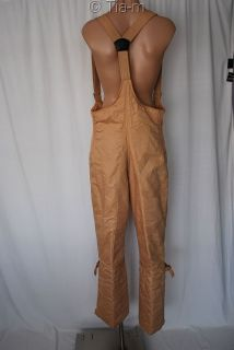 Jean Claude Killy 1960s Snow Ski Bib Pants Ladies 14