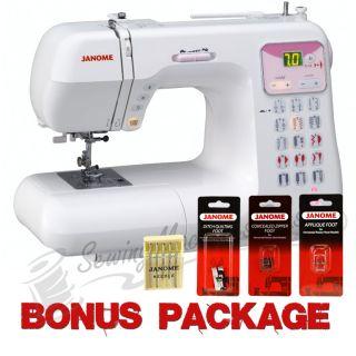 Janome DC4030 Pink Ribbon Computerized Sewing Machine w/ FREE BONUS