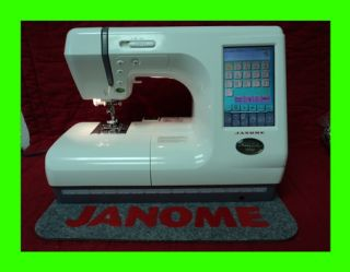 Janome Memory Craft 10000 Quilting Sewing Embroidery Machine Lots of