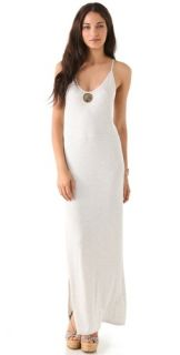 Haute Hippie Racer Back Maxi Dress