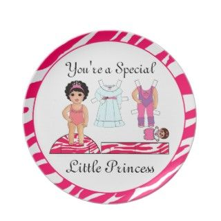 Little Princess Plates