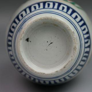 Japanese Antique Imari Polychrome Porcelain Vase 18th 19th Century