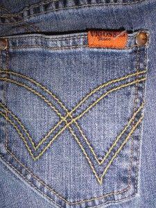 Vigoss Jeans USA Light Wash Sz 0 Blue Womens Waist 26
