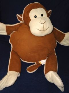 Jay at Play Snuggie Pockets Monkey Plush Stuffed Animal Large Jumbo