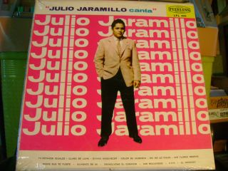 Mono Tex Mex Latin LP Julio Jaramillo Canta Peerless Hear