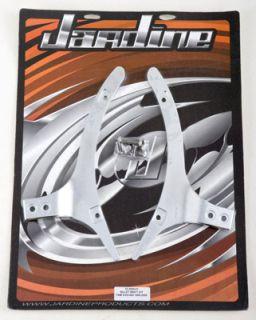 Jardine Billet Chrome Backrest Mounting Kit RoadStar Road Star 99 00