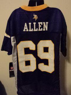 NFL Minnesota Vikings Jared Allen Youth Football Jersey L