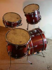 Vintage Ludwig Custom Jazz Drum Set
