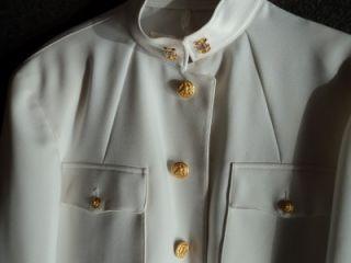 US Navy Original Choker Uniform Jacket Mcpo Device