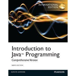 Introduction to Java Programming Comprehensive 9E by Y Daniel Liang
