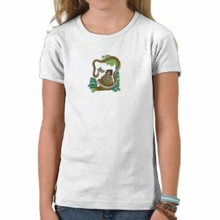 Disney Jungle Book Kaa with Mowgli T shirt