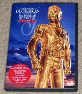 Jackson History on Film Volume II DVD 1998 Billie Jean Beat It