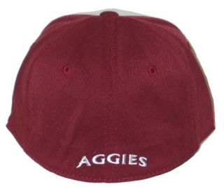 Texas A M Aggies Wingman White Flex Fit Hat Cap M L New