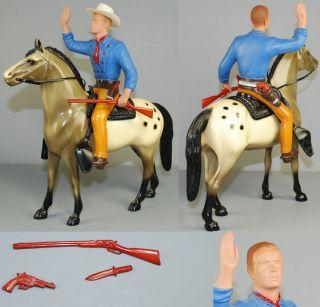 Hartland 9 Cowboy 1950s Set Tom Jeffords All Original Complete