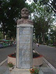 Tượng J.B. Louis Pierre, trong Thảo Cầm Viên Sài Gòn