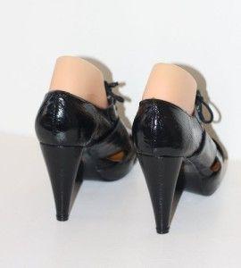 Jeffrey Campbell Ibiza 9 Shoes Black Heels Master Platform Patent