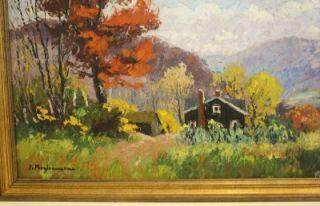 Impressionist Landscape Painting by Jehan Berjonneau Noresrv