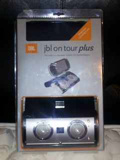 BRAND NEW STILL IN ORIGINAL PACKAGE JBL ON TOUR PLUS PORTABLE SPEAKERS