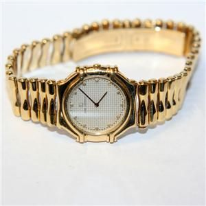 Jean Lassale Thalassa Ladies 18K Gold Diamond Watch