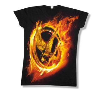 The Hunger Games Mocking Jay Jumbo Print T Shirt New Juniors Girls
