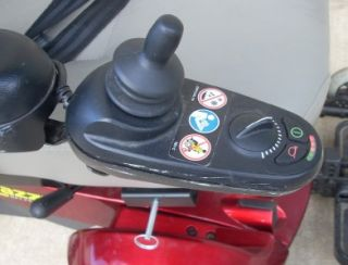 Red Jazzy Select Power Scooter Chair GC2 Controller Mobility