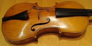 Fine Old Violin Labeled Jean Baptiste Vuillaume