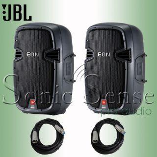 JBL Eon 510 Pair Powered Speakers PA DJ Loudspeaker System Extended